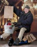 Ευχαριστημένος με την αγορά του στοκ φωτογραφίες