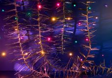 Ευχετήρια κάρτα για τη Χαρούμενα Χριστούγεννα και καλή χρονιά στοκ φωτογραφία με δικαίωμα ελεύθερης χρήσης