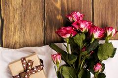 Ευχετήρια κάρτα ημέρας ή γενεθλίων μητέρων Στοκ Εικόνες