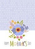 ευχετήρια κάρτα ημέρας μητέρων Στοκ φωτογραφίες με δικαίωμα ελεύθερης χρήσης