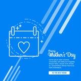 Ευχετήρια κάρτα ημέρας μητέρων ` s με τα λουλούδια ανθών Στοκ φωτογραφία με δικαίωμα ελεύθερης χρήσης