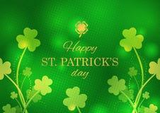 Ευχετήρια κάρτα ημέρας του ST Πάτρικ στοκ εικόνες