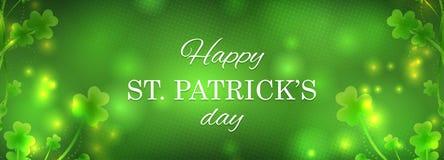 Ευχετήρια κάρτα ημέρας του ST Πάτρικ στοκ φωτογραφία με δικαίωμα ελεύθερης χρήσης
