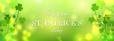 Ευχετήρια κάρτα ημέρας του ST Πάτρικ στοκ φωτογραφία