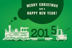 Ευχετήρια κάρτα καλής χρονιάς Στοκ φωτογραφίες με δικαίωμα ελεύθερης χρήσης