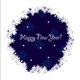 Ευχετήρια κάρτα καλής χρονιάς Στοκ Φωτογραφία