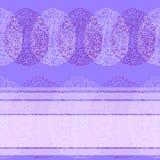 Ευχετήρια κάρτα με την ευτυχή μπλε κρητιδογραφία Πάσχας Στοκ φωτογραφία με δικαίωμα ελεύθερης χρήσης