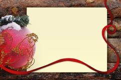 Ευχετήρια κάρτα υποβάθρου με έναν κόκκορα Στοκ Εικόνες