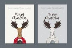 Ευχετήρια κάρτα: Χαρούμενα Χριστούγεννα Στοκ φωτογραφία με δικαίωμα ελεύθερης χρήσης