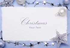 Ευχετήρια κάρτα Χριστουγέννων τέχνης Στοκ φωτογραφίες με δικαίωμα ελεύθερης χρήσης