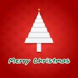 Ευχετήρια κάρτα Χριστουγέννων Στοκ Φωτογραφία