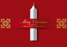 Ευχετήρια κάρτα Χριστουγέννων Στοκ φωτογραφίες με δικαίωμα ελεύθερης χρήσης