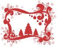 Ευχετήρια κάρτα Χριστουγέννων Στοκ Εικόνα