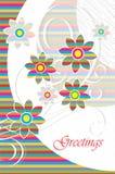 Ευχετήρια κάρτα Στοκ εικόνα με δικαίωμα ελεύθερης χρήσης