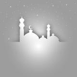 Ευχετήρια κάρτα Ramadan Στοκ Εικόνα