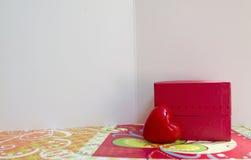 Ευχετήριες κάρτες αγάπης Στοκ Εικόνες