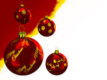 Ευχετήριες κάρτες Χριστουγέννων Στοκ Εικόνες