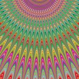 Ευλογία από τον ουρανό - ζωηρόχρωμο fractal σχέδιο Στοκ Φωτογραφία