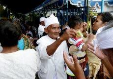 Ευλογία Hindus Στοκ Φωτογραφία