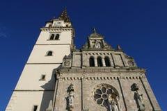 Ευλογημένη η βασιλική Virgin Mary, Marija Bistrica, Κροατία στοκ φωτογραφίες με δικαίωμα ελεύθερης χρήσης