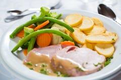 Εφαρμογές προτάσεων που εξυπηρετούν το μεσημεριανό γεύμα Στοκ Εικόνες