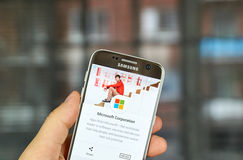 Εφαρμογές της Microsoft στο παιχνίδι Google Στοκ Φωτογραφίες