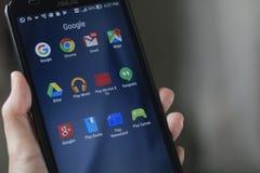 Εφαρμογή Smartphone Στοκ Εικόνα