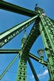 Εφαρμοσμένη μηχανική γεφυρών ελευθερίας Στοκ φωτογραφίες με δικαίωμα ελεύθερης χρήσης