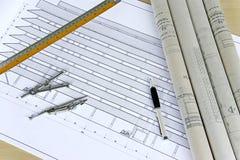 εφαρμοσμένη μηχανική σχεδί Στοκ Εικόνες