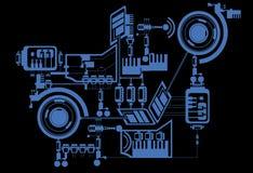 εφαρμοσμένη μηχανική Στοκ εικόνες με δικαίωμα ελεύθερης χρήσης