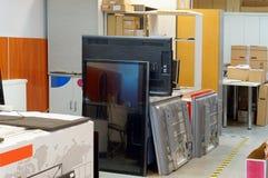 εφεδρική αποθήκη εμπορευμάτων μερών Στοκ φωτογραφία με δικαίωμα ελεύθερης χρήσης