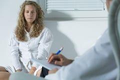 Εφηβικός διανοητικός ασθενής νοσοκομείου Στοκ φωτογραφία με δικαίωμα ελεύθερης χρήσης