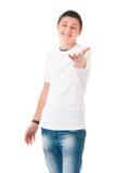 Εφηβικό αγόρι σπουδαστών Στοκ εικόνες με δικαίωμα ελεύθερης χρήσης