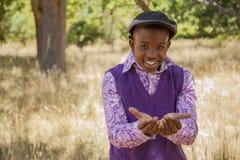Εφηβικό αφρικανικό αγόρι Στοκ φωτογραφίες με δικαίωμα ελεύθερης χρήσης