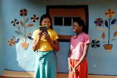 εφηβικό κορίτσι Ινδία αγρ&omi Στοκ Φωτογραφίες