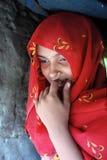 εφηβικό κορίτσι Ινδία αγρ&omi Στοκ εικόνες με δικαίωμα ελεύθερης χρήσης