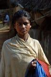 εφηβικό κορίτσι Ινδία αγρ&omi Στοκ Εικόνα