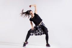 Εφηβικό κορίτσι χορευτών Στοκ εικόνες με δικαίωμα ελεύθερης χρήσης