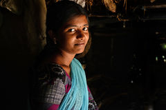 εφηβικό κορίτσι Στοκ φωτογραφία με δικαίωμα ελεύθερης χρήσης