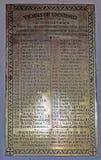 Εφημέριοι της αρχαίας εκκλησίας Pevensey του ST Mary ` s Στοκ φωτογραφίες με δικαίωμα ελεύθερης χρήσης