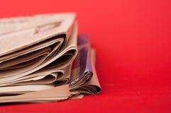 εφημερίδα Στοκ φωτογραφίες με δικαίωμα ελεύθερης χρήσης