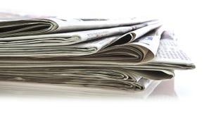 εφημερίδες διάφορες Στοκ φωτογραφίες με δικαίωμα ελεύθερης χρήσης