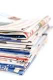 εφημερίδες Στοκ Φωτογραφίες