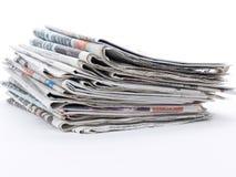 εφημερίδες Στοκ εικόνες με δικαίωμα ελεύθερης χρήσης