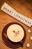 Εφημερίδα Χαρούμενα Χριστούγεννας Στοκ Εικόνες