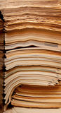 εφημερίδες περιοδικών παλαιές Στοκ Εικόνα