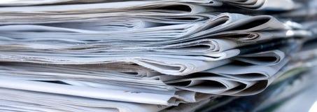 εφημερίδες Στοκ φωτογραφία με δικαίωμα ελεύθερης χρήσης