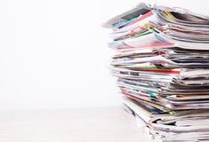 Εφημερίδες Στοκ εικόνα με δικαίωμα ελεύθερης χρήσης