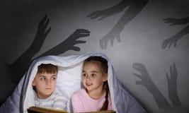 Εφιάλτες παιδιών Στοκ Εικόνες