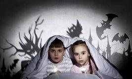 Εφιάλτες παιδιών Στοκ φωτογραφίες με δικαίωμα ελεύθερης χρήσης